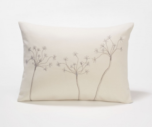 Delicate Dandelion Pillow
