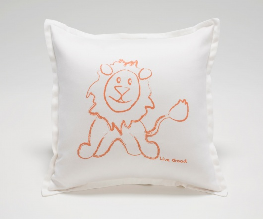 Lion Baby Pillow