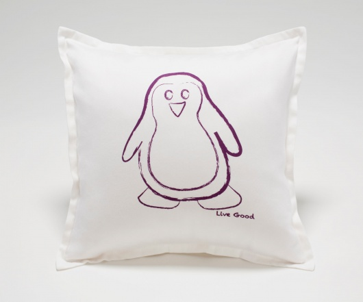 Penguin Baby Pillow