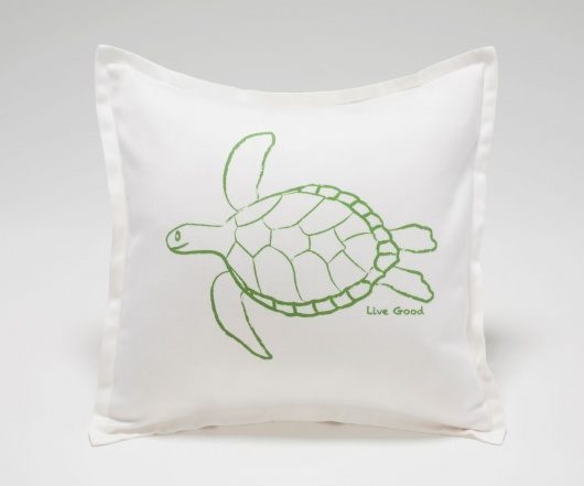 Turtle Baby Pillow